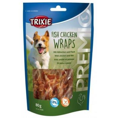 """Trixie (Тріксі) Ласощі """"PREMIO Fish Chicken Wraps"""" риба / курка 80гр"""