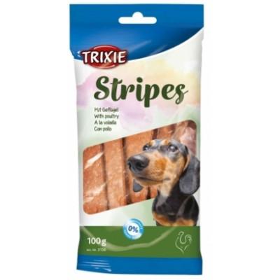 TRIXIE (Трикси) Stripes Палочки для собак с мясом домашней птицы 10 шт 100 г