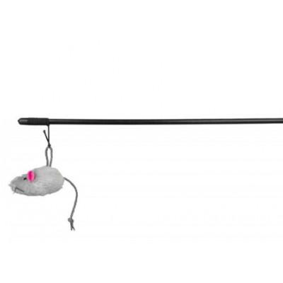купити Trixie Іграшка для кішок Мишка на вудці 100см в Одеси