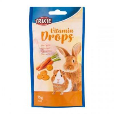 Vitamin Drops with Carrot дропсы с морковью для грызунов 75 г