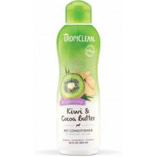 TropiClean (Тропіклін) Kiwi & Cocoa Butter Лікувальний кондиціонер для відновлення сухої шерсті для собак
