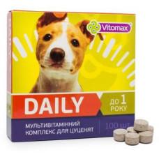 DAILY Витамины для щенков 100т (100гр)