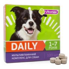 DAILY Витамины для собак 1-7 лет 100т (100гр)