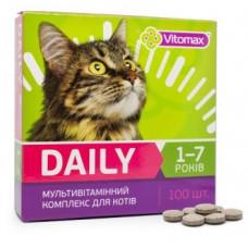 DAILY Витамины для котов 1-7 лет 100т. (50гр.)