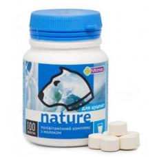 Nature Поливитаминный комплекс для щенков с молоком 100т (100г)