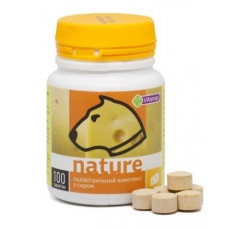 Nature Поливитаминный комплекс для собак с сыром 100т (100г)