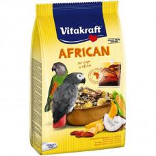 Vitakraft (Вітакрафт) African корм для великих африканських папуг 750 гр