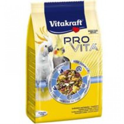 Vitakraft (Вітакрафт) Pro Vita корм з пробіотиком для середніх попуг 750 гр