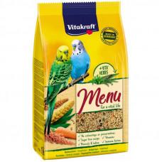 Vitakraft (Вітакрафт) Menu корм для хвилястих папуг 1 кг