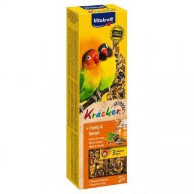 Vitakraft (Вітакрафт) Крекер медовий для середніх африканських папуг 2 шт