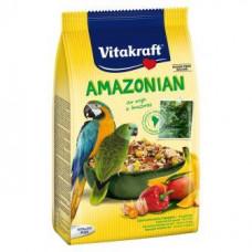 Vitakraft (Вітакрафт) Amazonia корм для амазонських папуг 750 гр