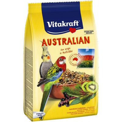 Vitakraft (Вітакрафт) Australian корм для австралійських папуг кактус 750 г