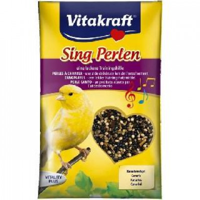 Vitakraft (Вітакрафт) Perlen підкормка для стимуляції співу 20 гр у канарок