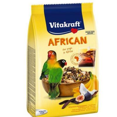 Vitakraft (Вітакрафт) African корм для середніх африканських папуг 750 гр