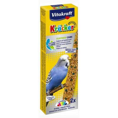 Vitakraft (Вітакрафт) Крекер для хвилястих папуг в період линьки 2 шт