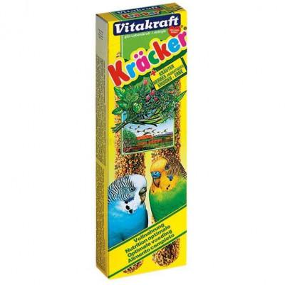 Vitakraft (Вітакрафт) Крекер з травами 2 шт для хвилястих папуг