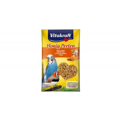 Vitakraft (Вітакрафт) Honig Perlen вітамінна підкормка з медом 20г для хвилястих папуг