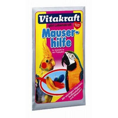 Vitakraft (Вітакрафт) Підкормка під час линьки 25 гр для великих та середнiх папуг