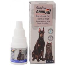 Animall ушные капли для собак и котов, 10мл