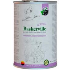 Baskerville Баскервіль Ягня і смородина для цуценят