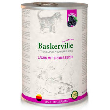 Baskerville (Баскервіль) Лосось з ожиною для кошенят