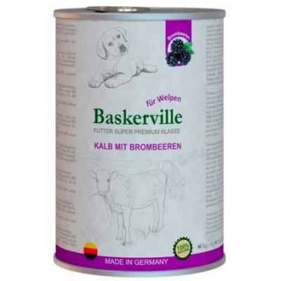 купити Baskerville Баскервиль Телятина и ежевика для щенков в Одеси