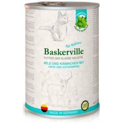 Baskerville Оленина с кроликом и кошачьей мятой