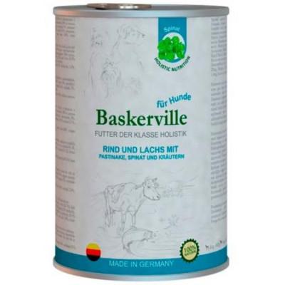 купити Baskerville Баськервіль Лосось і яловичина з пастернаком, зеленню і шпинатом в Одеси