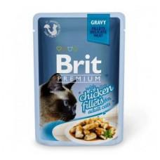 Brit Premium Кусочки куриного филе в соусе