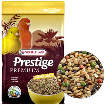 Versele-Laga Prestige Premium Canary ВЕРСЕЛЕ-ЛАГА ПРЕСТИЖ ПРЕМИУМ КАНАРЕЙКА полнорационный корм для канареек