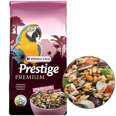 Versele-Laga Prestige Premium Parrots ВЕРСЕЛЕ-ЛАГА ПРЕСТИЖ ПРЕМИУМ КРУПНЫЙ ПОПУГАЙ полнорационный корм для крупных попугаев
