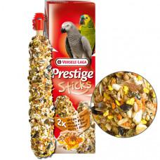Versele-Laga Prestige Sticks Parrots Nuts & Honey ВЕРСЕЛЕ-ЛАГА ОРЕХИ С МЕДОМ лакомство для крупных попугаев, 2х70 гр