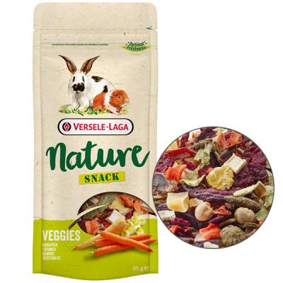 Versele-Laga Nature Snack Veggies Верселя-лага НАТЮР СНЕК ОВОЧІ додатковий корм ласощі для кроликів і гризунів