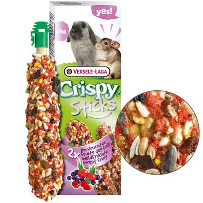 Versele-Laga Crispy Sticks Forest Fruit Версель-лага кріспі ЛІСОВІ ФРУКТИ ласощі для кроликів, шиншил