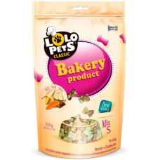 Lolo Pets Classic Bakery Бісквіти для собак Кісточки, 350г