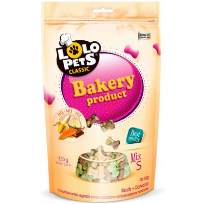 купити Lolo Pets Classic Bakery Бісквіти для собак Кісточки, 350г в Одеси