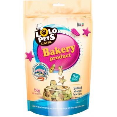 купити Lolo Pets Classic Bakery бісквіти для собак з морепродуктами, 350 г в Одеси