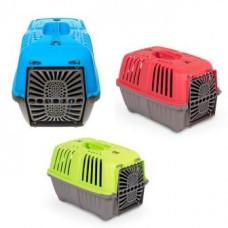 Pratiko Pet Carrier - Пластиковая переноска для кошек и собак до 12кг 48 х 31,5 х 33