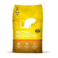 Nutra Nuggets (Нутра Нагетс) Cat Maintenance Корм для кастрованих котів з куркою
