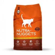Nutra Nuggets (Нутра Нагетс) Professional for Cats Корм з куркою для активних, вагітних і лактуючих кішок