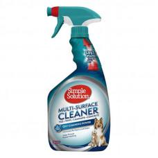 Simple Solution Multi-Surface Cleaner для удаления пятен и запахов с поверхностей, 945мл