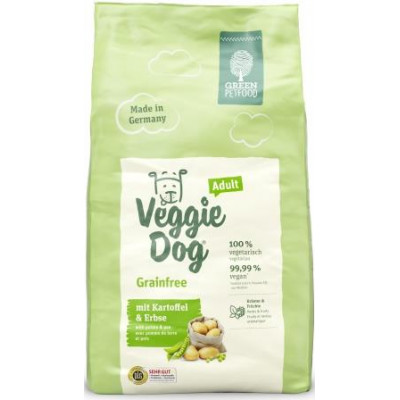 Green PetFood VeggieDog Grainfree Adult, вегетаріанський корм з картоплею та горохом