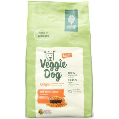 купити Green PetFood VeggieDog Origin Adult, вегетаріанський корм з червоною сочевицею в Одеси