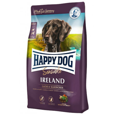 купити Happy Dog Supreme Irland с лососем и кроликом, 12,5кг в Одеси