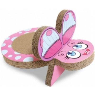 купити Croci Когтеточка Бабочка, гофрированный картон 25x38x20 см в Одеси