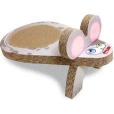 Croci Когтеточка Мишка, гофрований картон 25x45x20 см