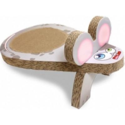 купити Croci Когтеточка Мишка, гофрований картон 25x45x20 см в Одеси