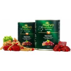 NUEVO ADULT влажный корм для собак с олениной, брусникой и сафлоровым маслом, 800гр