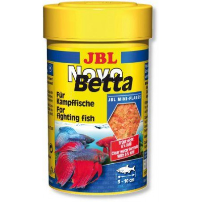 JBL NovoBetta основной корм для лабиринтовых рыбок, 100мл
