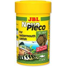 JBL NovoPleco основной корм для небольших и средних кольчужных сомов